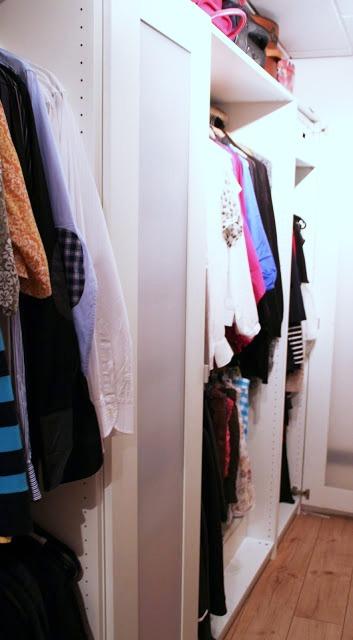 begehbarer Kleiderschrank selbst gebaut