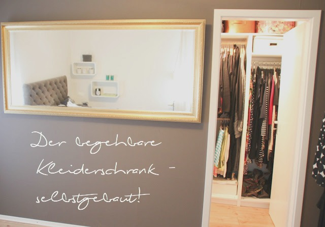 der begehbare kleiderschrank selber bauen ordnungsliebe. Black Bedroom Furniture Sets. Home Design Ideas