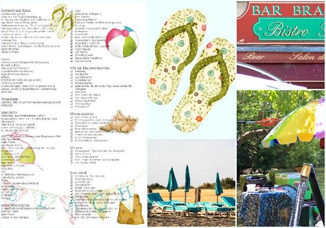 Urlaubsorganisation: Die Checkliste für den Sommer!41596