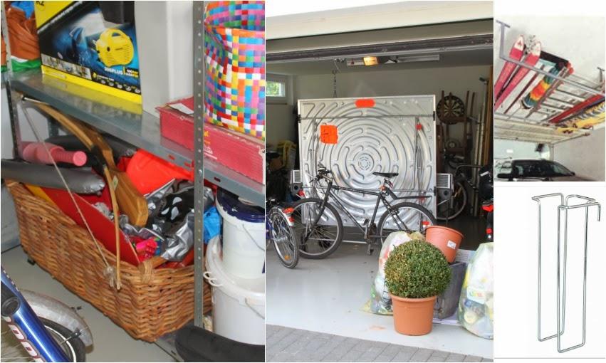Garage professionell aufräumen