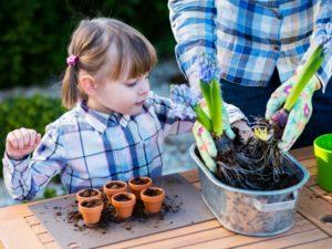 Kinder helfen im Haushalt