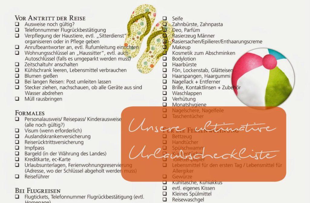 Downloads – Die Urlaubscheckliste!15984