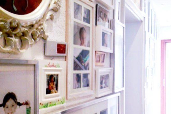 Bildergalerie im Flur