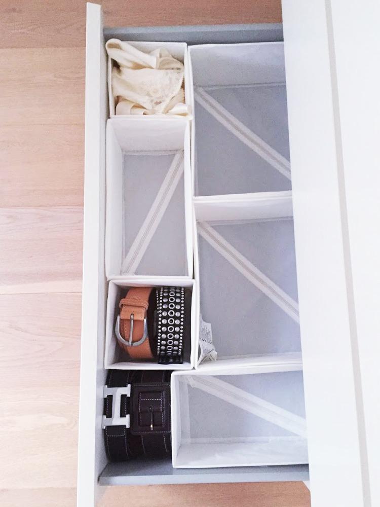 Aufbewahrung im Schlafzimmer