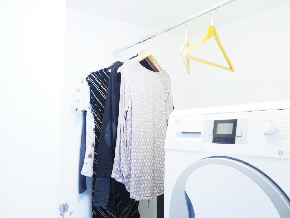 Kleider trocknen