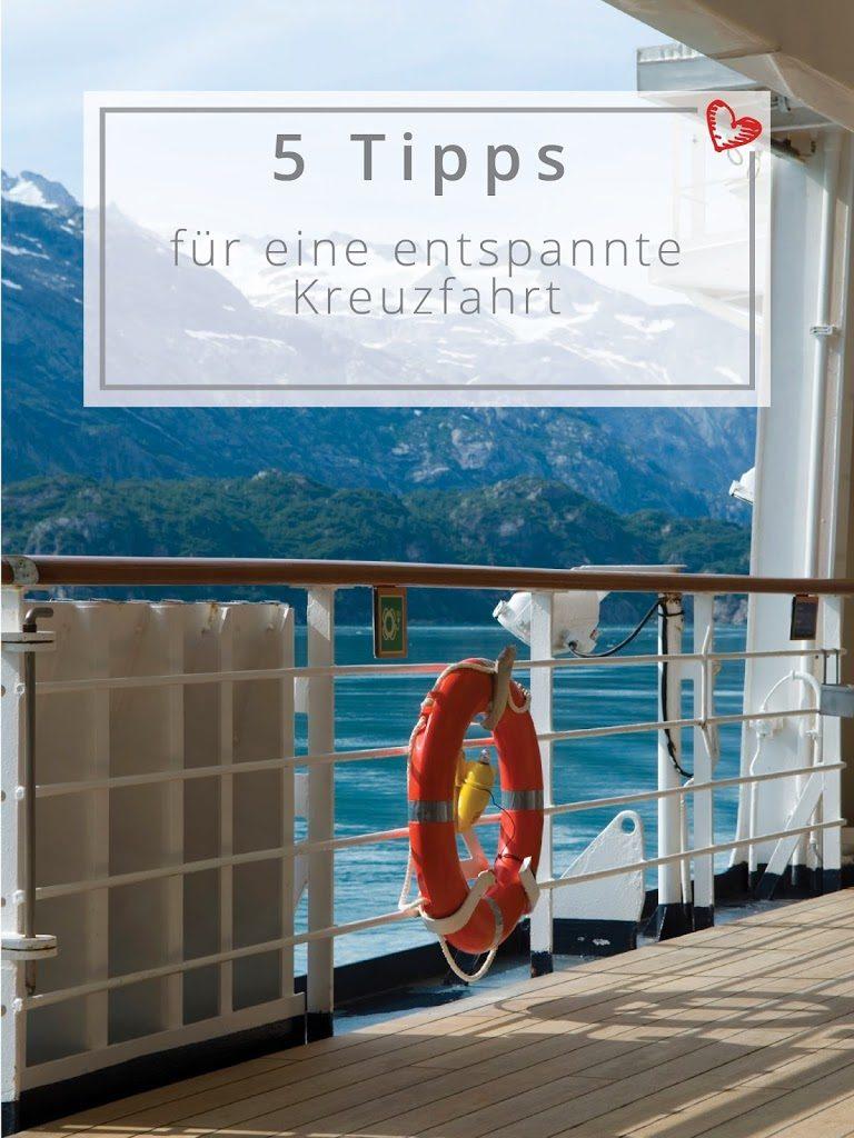 5 Tipps für eine entspannte Kreuzfahrt