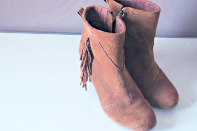 Stiefel pflegen