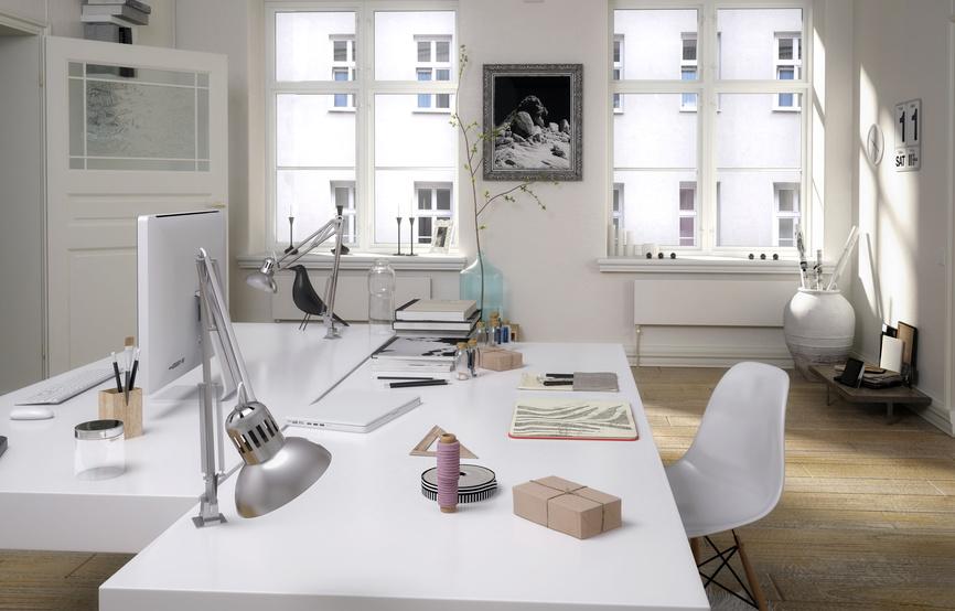 Bild: Fotolia - Aufgeräumter Schreibtisch