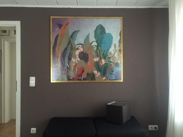 Unser neues Bild fürs Schlafzimmer und ein Rabattcode*49652