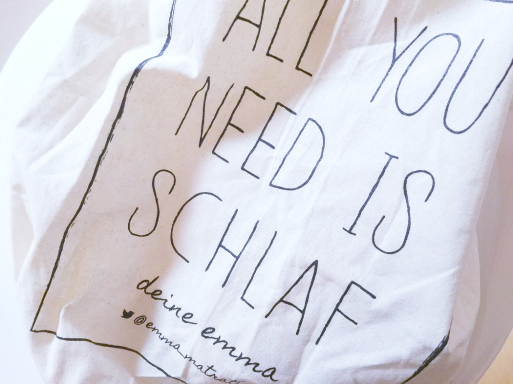 all you need is schlaf
