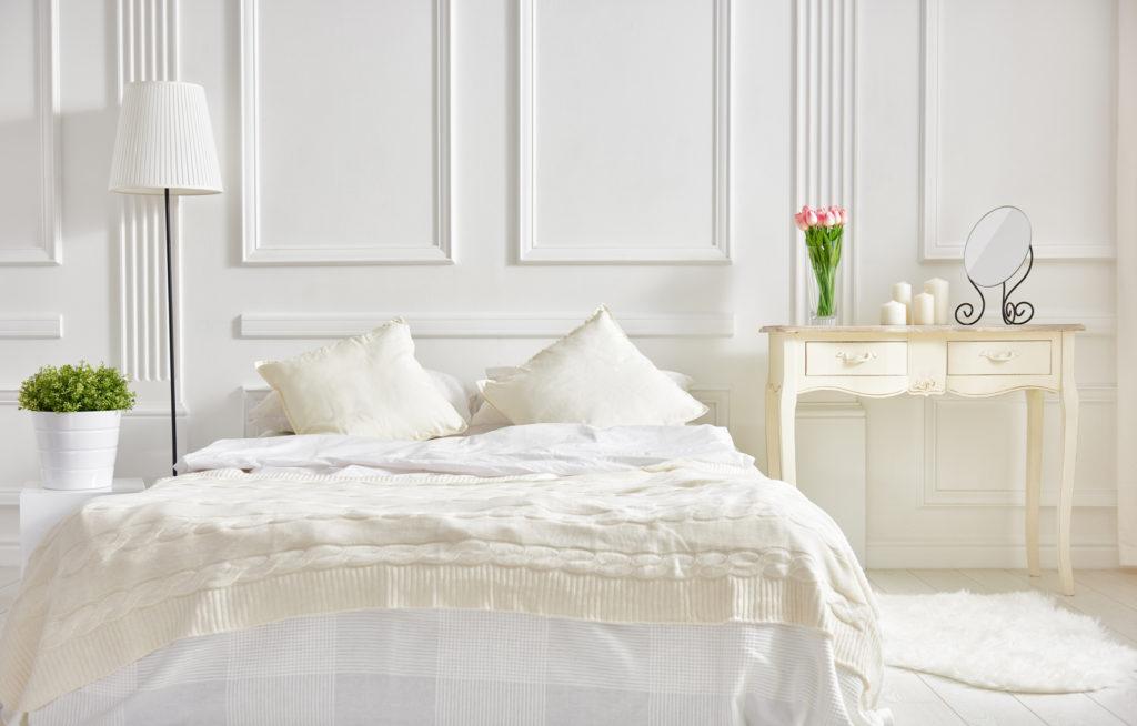 Frühjahrsputz im Schlafzimmer