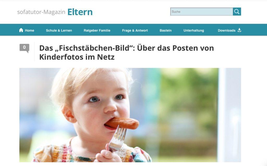 """Das """"Fischstäbchen-Bild"""": Über das Posten von Kinderfotos im Netz66253"""