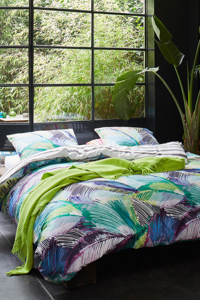 Frühling im Schlafzimmer ohne Farbtopf und Pinsel97751