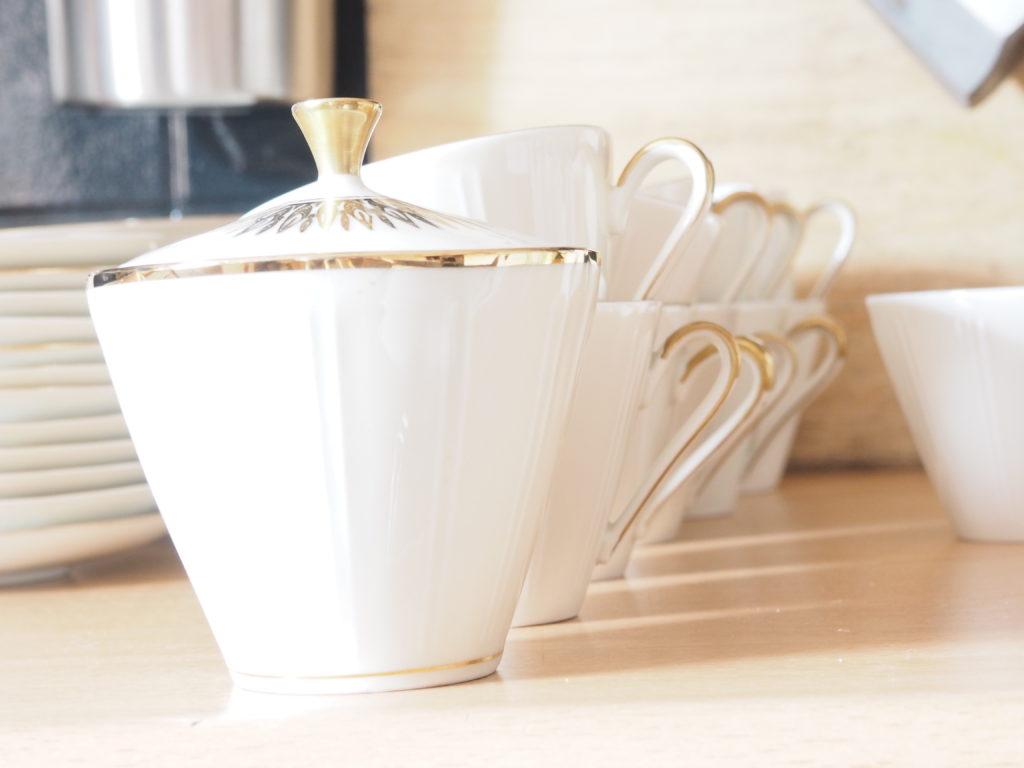 Kaffeeservice für die Konfirmation