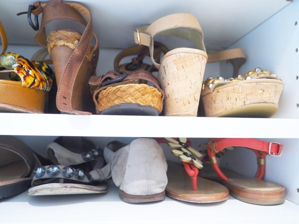Blick in den Schuhschrank - Wieviel ist zu viel