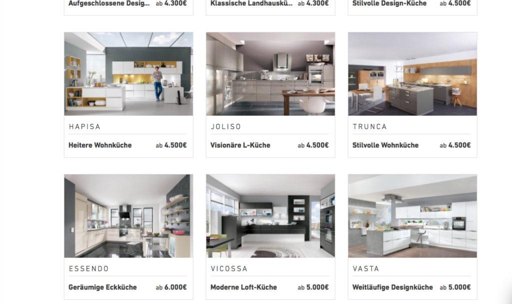 Küchenauswahl Kiveda
