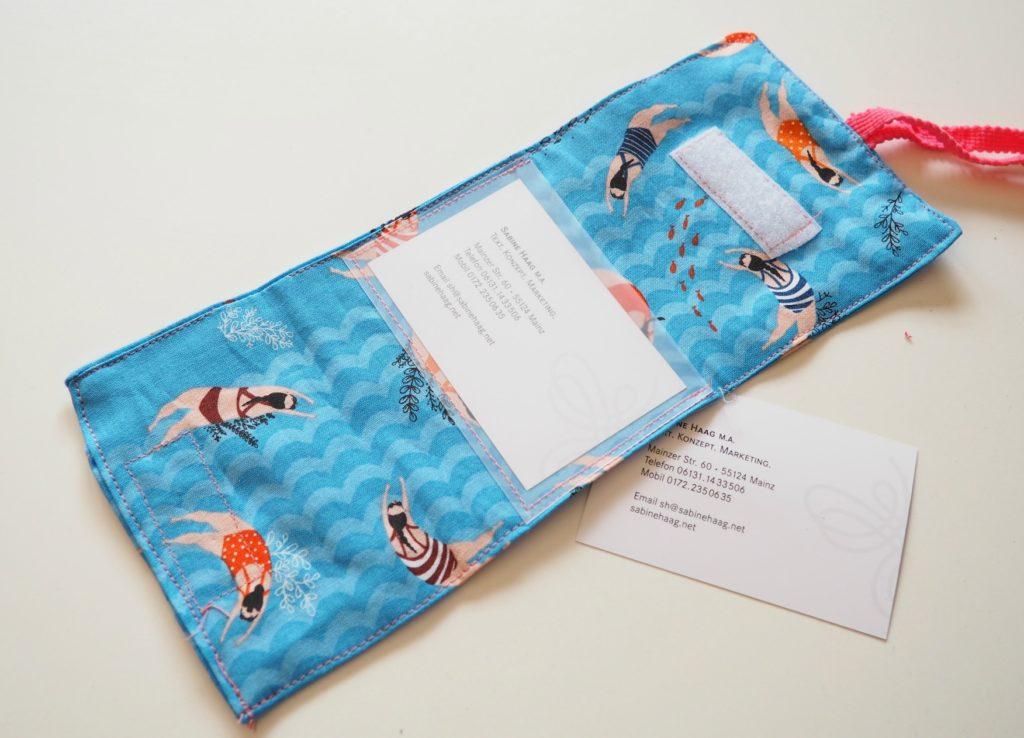 Koffer DIY mit Visitenkartenfach