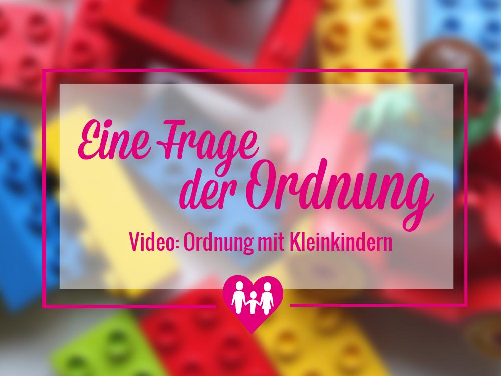 Eine Frage der Ordnung: Wie funktioniert Ordnung mit kleinen Kindern?46601