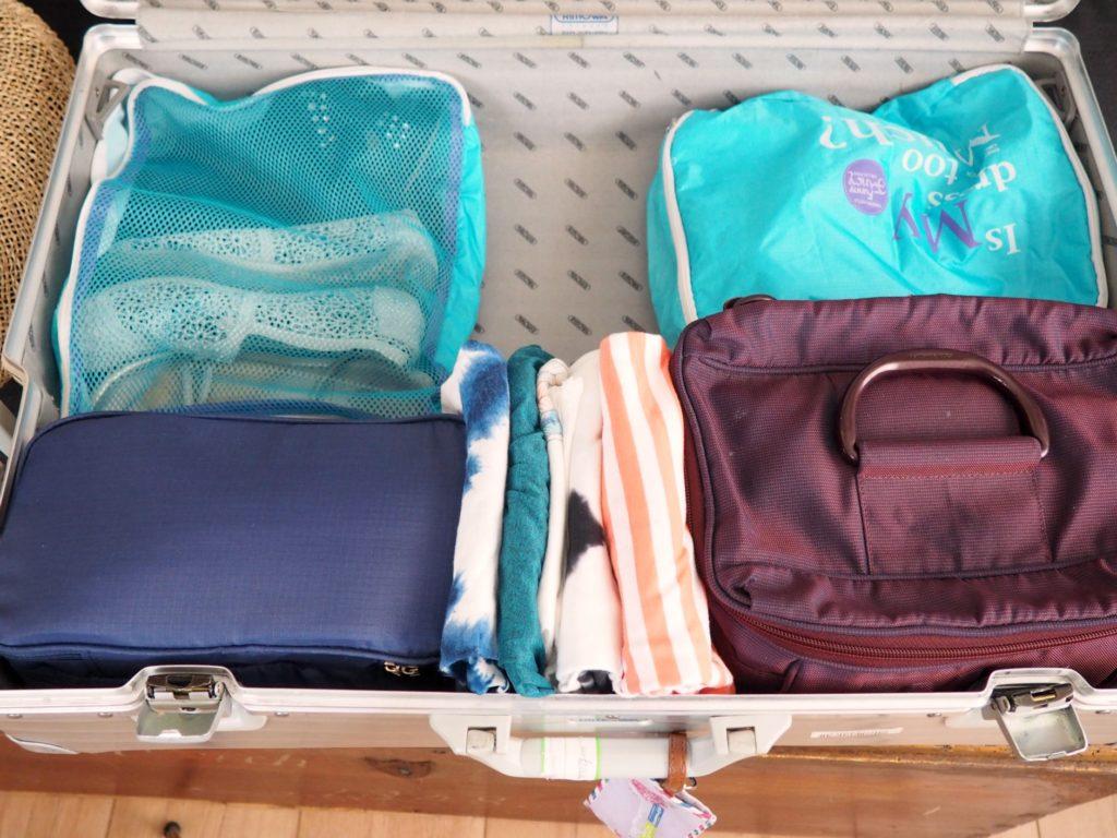 Koffer effizient einräumen