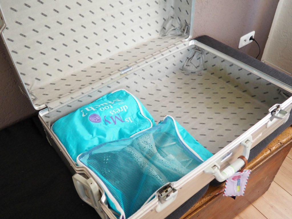 Koffer effizient packen