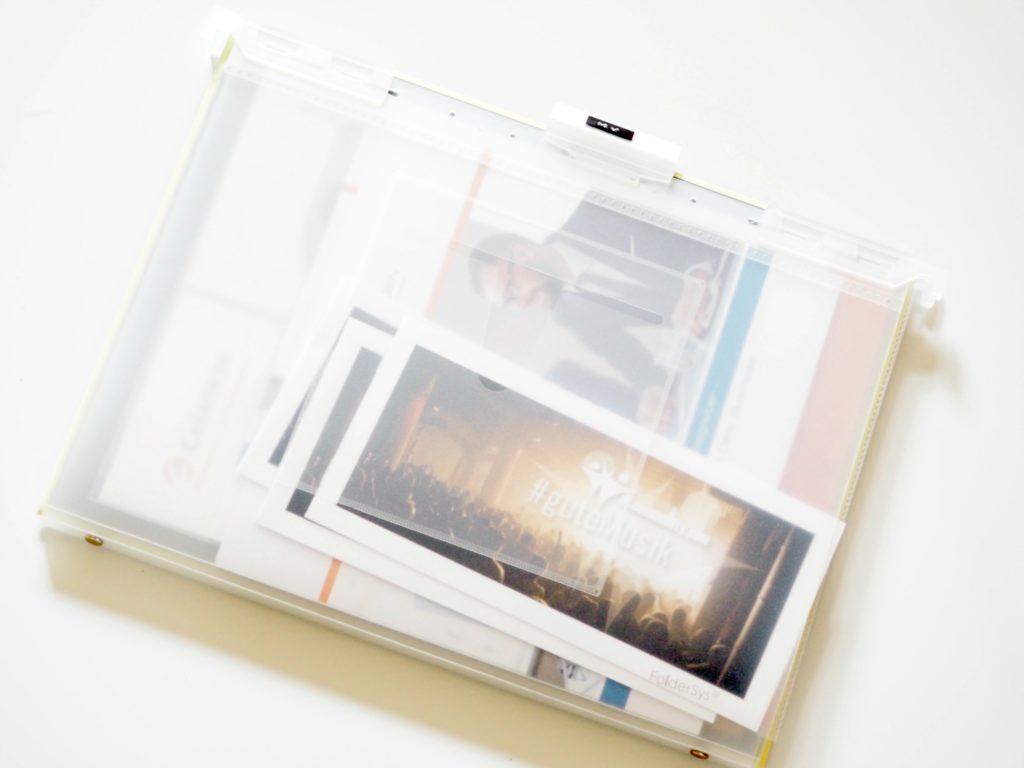 Registertasche - Organisieren mit Hängeregistern