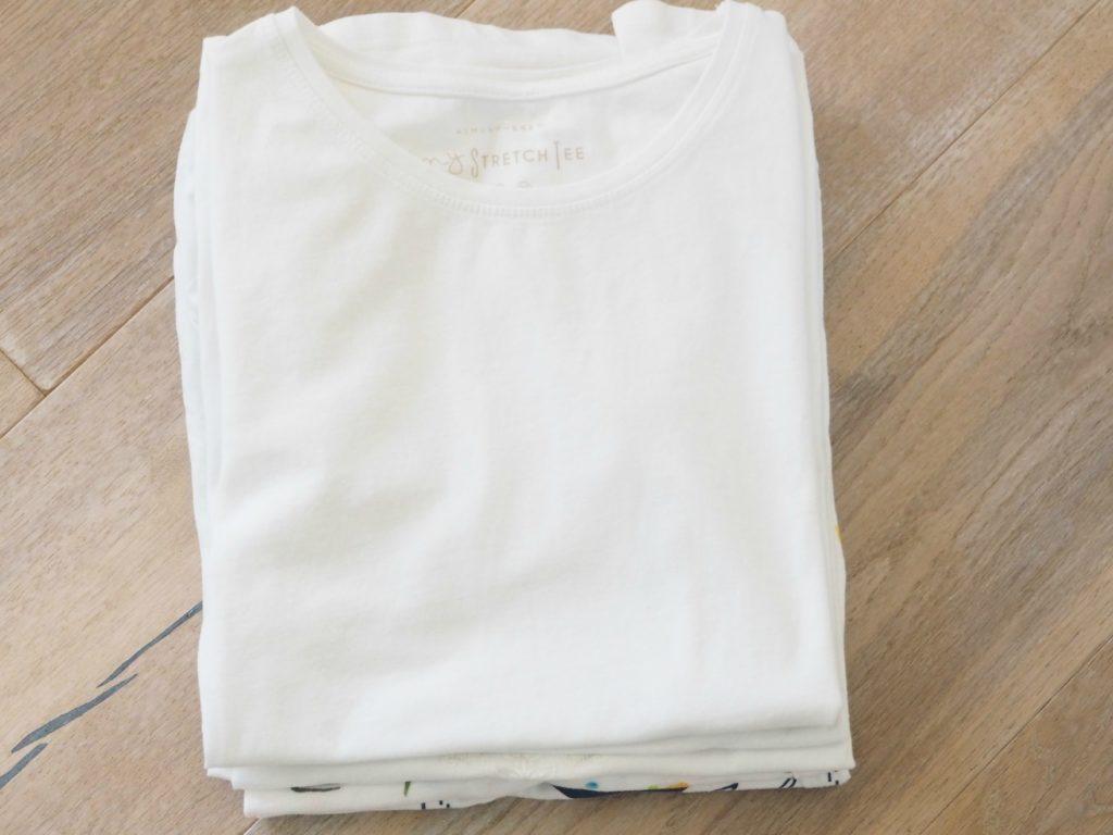 Tshirt-Stapel