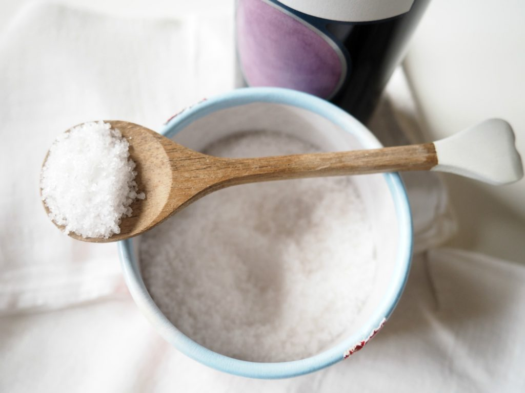 Salz gegen Rotweinflecken