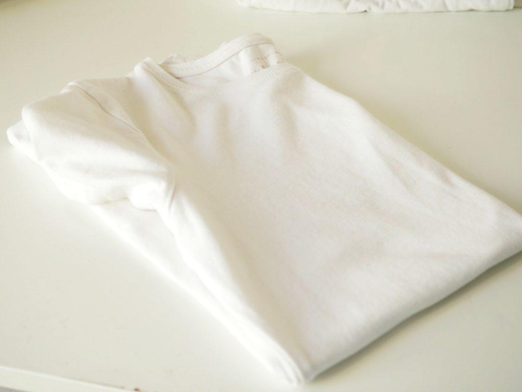 Shirt längs falten
