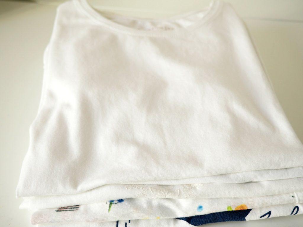 Shirts falten mit faltbrett