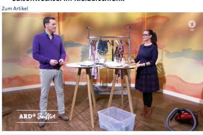 swr ARD Buffet Saisonwechsel im Kleiderschrank