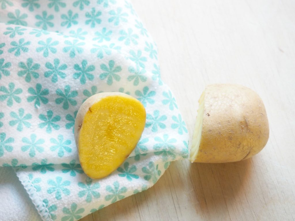 Kartoffeln gegen Kalk