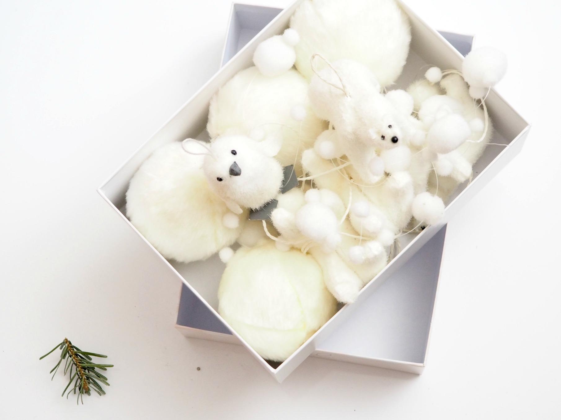 Weihnachtsdeko verstauen