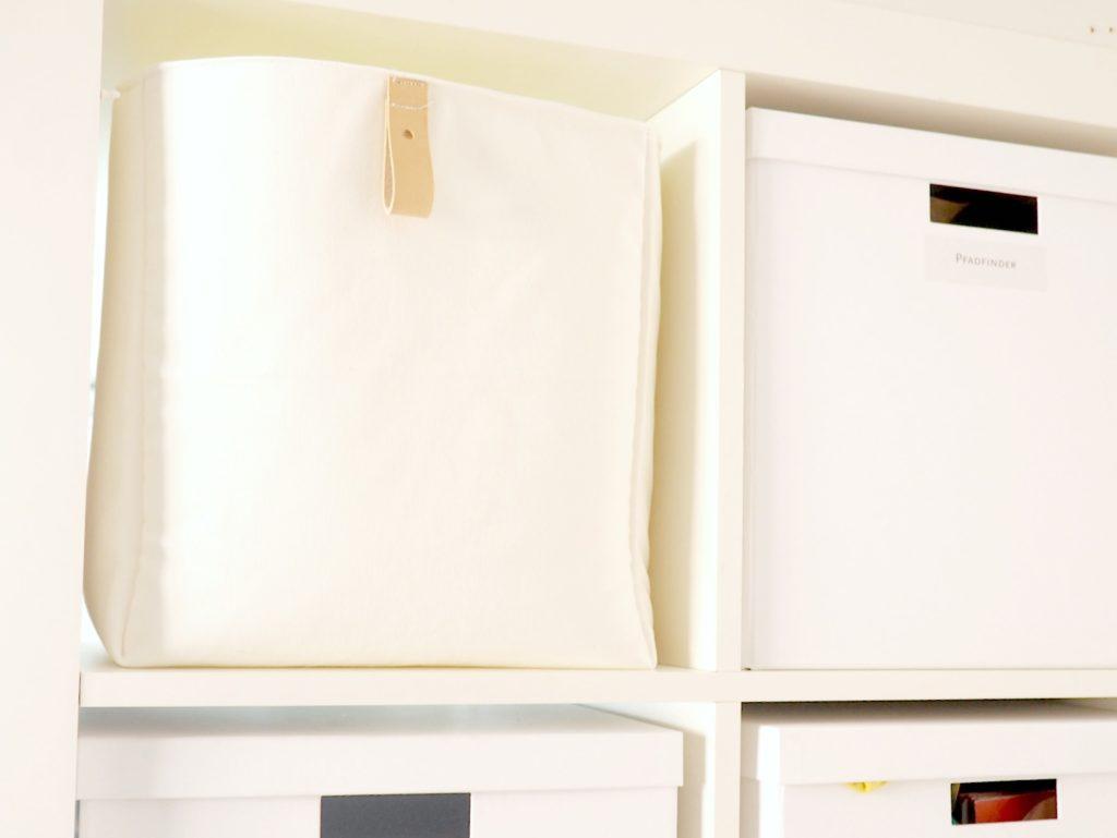 Ikeaboxen selbst genäht in Nähideen die Ordnung schaffen - ein Buch von Ordnungsliebe