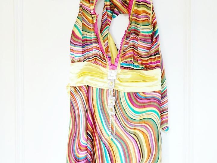 Secondhandkleid aus den 70ern