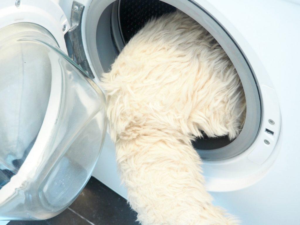 Luft in der Waschmaschine