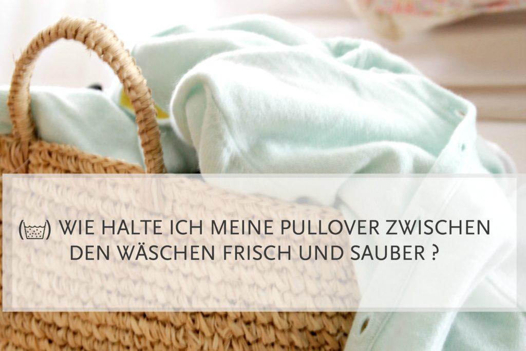 Kuschelzeit: Wie halte ich meine Pullover frisch und sauber zwischen den Wäschen?13924