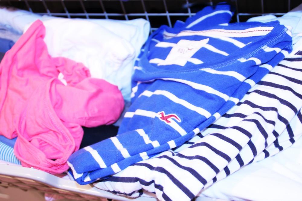 T-Shirt-Chaos im Kleiderschrank