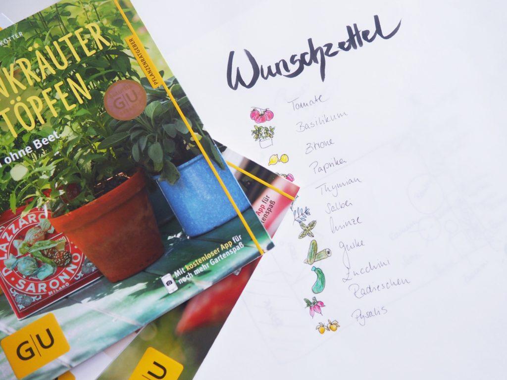 Garten Wunschzettel