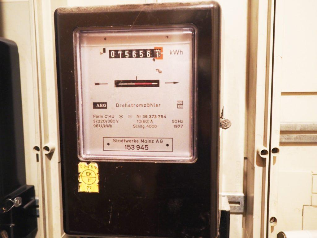 Zählerstand kWhapp Yello Strom-App