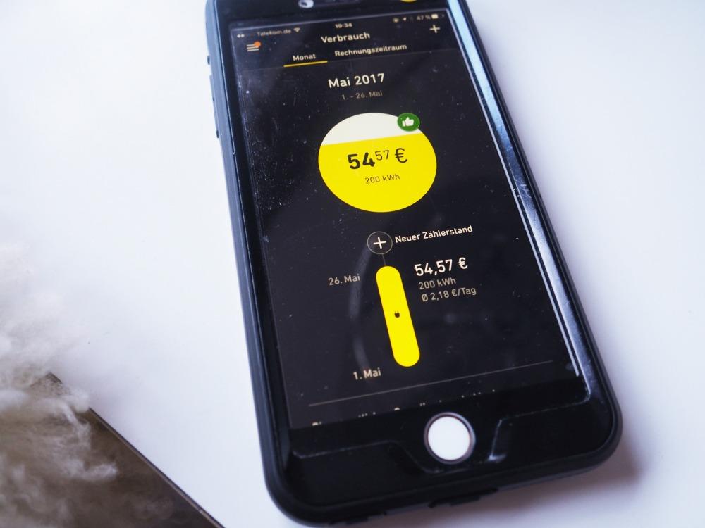 kWhapp Yello Strom-App