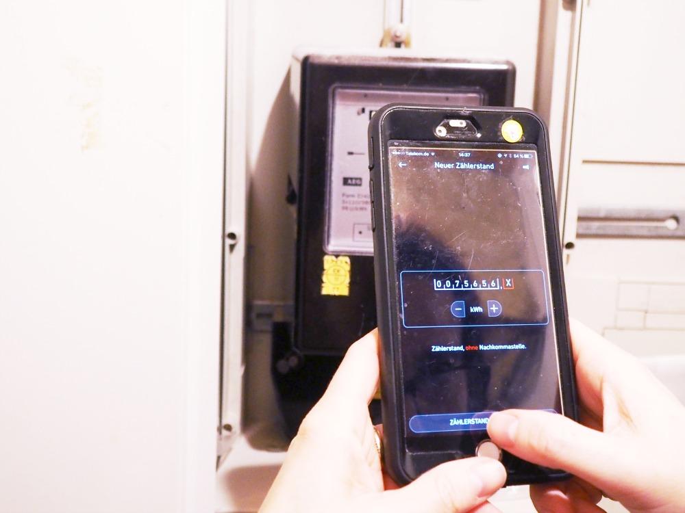 Zählerstand ablesen mit der kWhapp Yello Strom-App