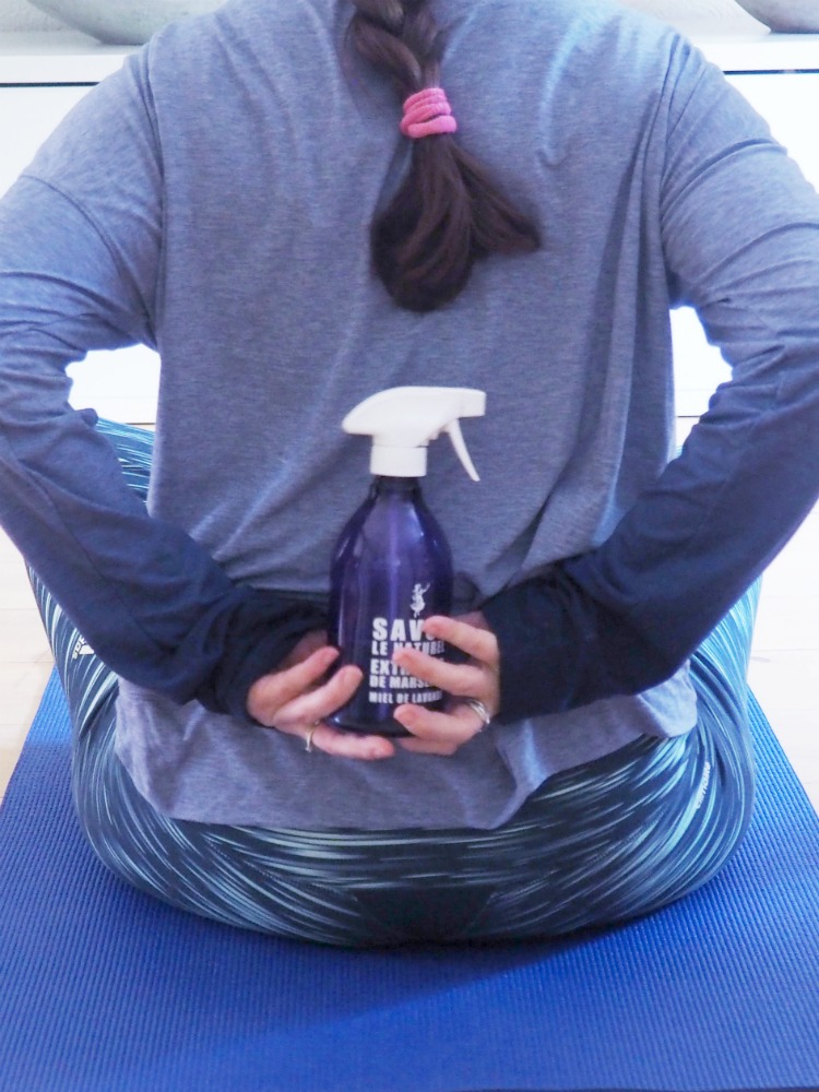 Yogamatten-Spray DIY