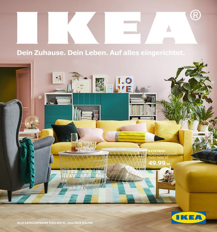 Der Neue Ikea Katalog 2018 Kommt Ordnungsliebe