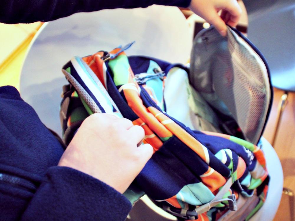Ordnung im Schulrucksack