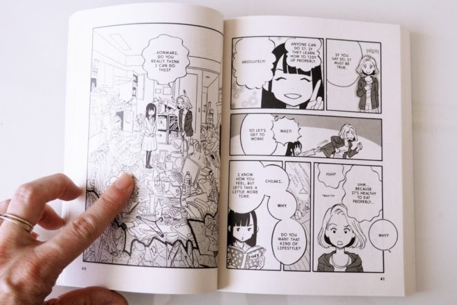 Marie Kondo Comic