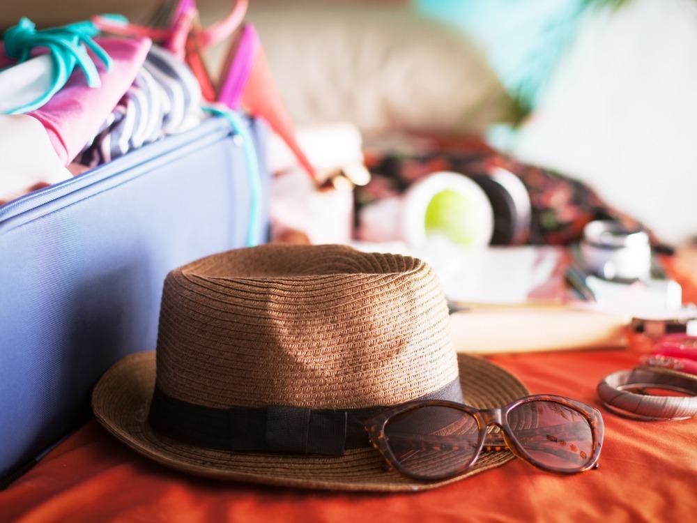 Koffer auspacken