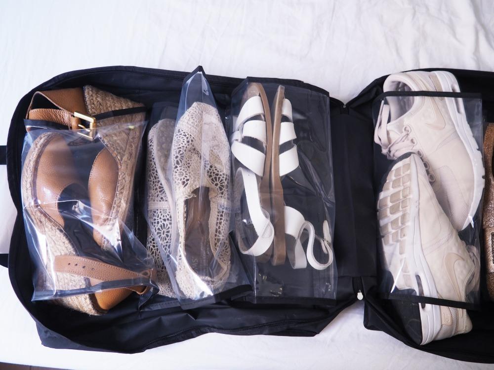Wenko Reise Packtasche Helfer Kofferpacken