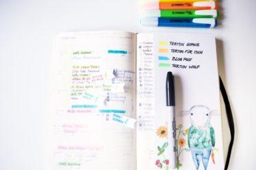 Farbcode fuer den Kalender