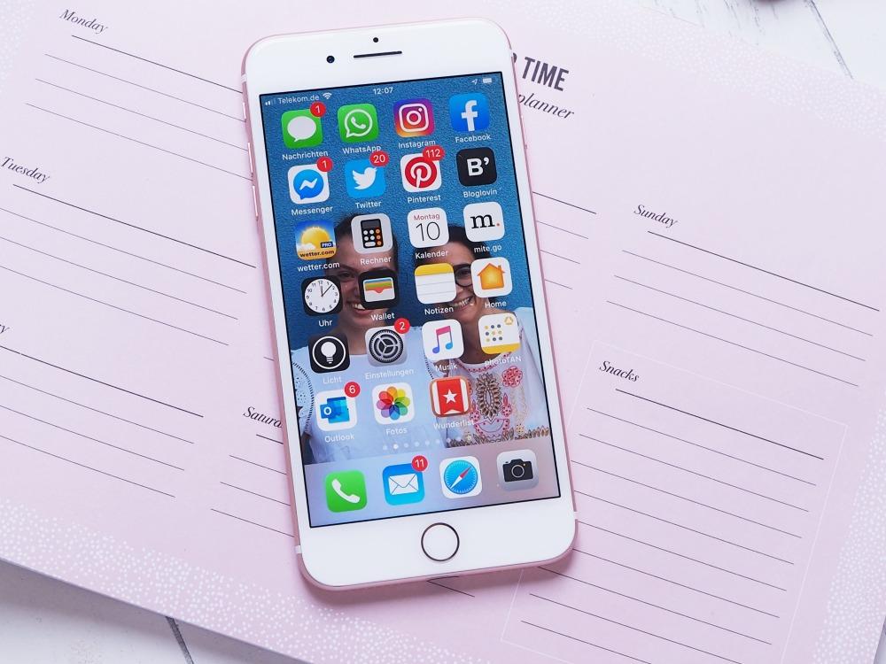 Smartphone putzen
