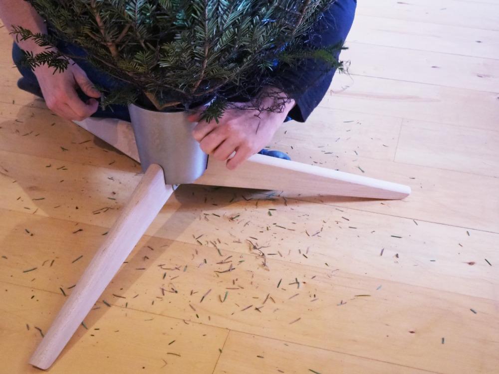 Weihnachtsbaum haltbar machen